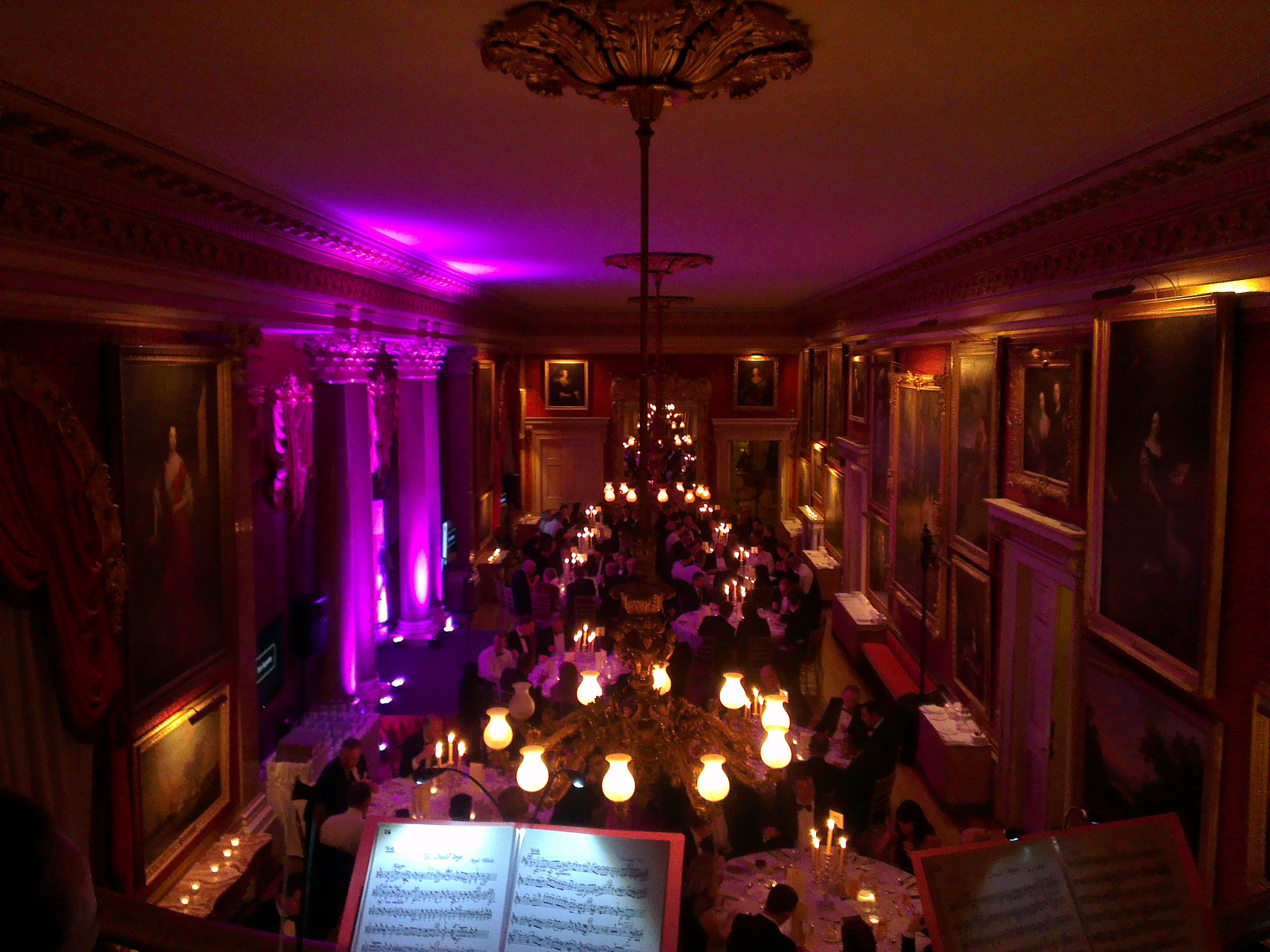 Goodwood House Simple Stage And Lighting Lizard Audio Ltd Equipment Hire