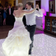 White LED Twinkle Dancefloor Hire