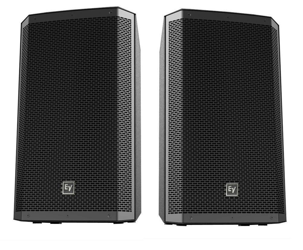 2000w ev zlx 12a active sound system lizard audio ltd equipment hire. Black Bedroom Furniture Sets. Home Design Ideas